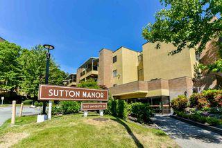 "Photo 1: 301 10157 UNIVERSITY Drive in Surrey: Whalley Condo for sale in ""Sutton Manor"" (North Surrey)  : MLS®# R2281977"