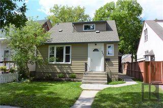 Photo 1: 882 Banning Street in Winnipeg: Residential for sale (5C)  : MLS®# 1821945