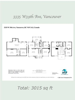 Photo 20: 3335 W 39TH Avenue in Vancouver: Dunbar House for sale (Vancouver West)  : MLS®# R2367396
