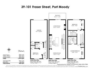 "Photo 20: 39 101 FRASER Street in Port Moody: Port Moody Centre Townhouse for sale in ""CORBEAU"" : MLS®# R2410507"