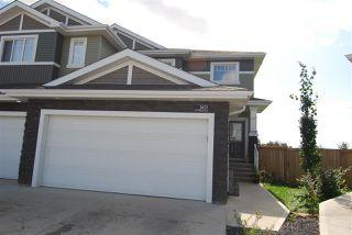 Photo 1: 3621 HUMMINGBIRD Way in Edmonton: Zone 59 House Half Duplex for sale : MLS®# E4183968