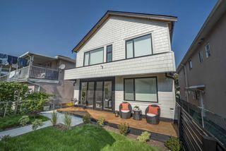 Photo 1: 2236 ADANAC Street in Vancouver: Hastings 1/2 Duplex for sale (Vancouver East)  : MLS®# R2505632