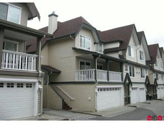 """Photo 1: 40 15355 26TH Avenue in Surrey: King George Corridor Townhouse for sale in """"SOUTHWYND"""" (South Surrey White Rock)  : MLS®# F1111571"""