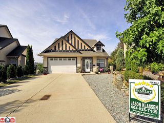 Photo 1: 35506 ALLISON CT in Abbotsford: Abbotsford East House for sale