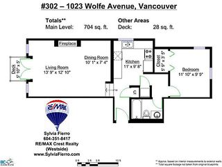 Photo 18: # 302 1023 WOLFE AV in Vancouver: Shaughnessy Condo for sale (Vancouver West)  : MLS®# V1032146