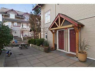 Photo 17: 112 4272 ALBERT Street in Burnaby: Vancouver Heights Townhouse for sale (Burnaby North)  : MLS®# V1045828