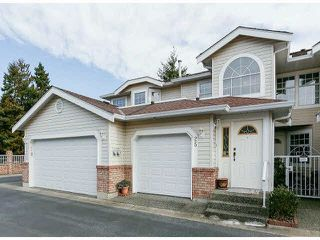 "Photo 1: 25 9168 FLEETWOOD Way in Surrey: Fleetwood Tynehead Townhouse for sale in ""FOUNTAINS"" : MLS®# F1403191"