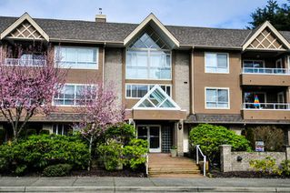 "Photo 1: 206 15375 17 Avenue in Surrey: King George Corridor Condo for sale in ""CARMEL PLACE"" (South Surrey White Rock)  : MLS®# R2044695"