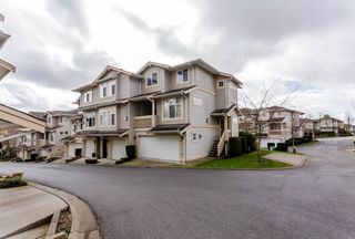 "Photo 1: 17 14959 58 Avenue in Surrey: Sullivan Station Townhouse for sale in ""Skylands"" : MLS®# R2046904"