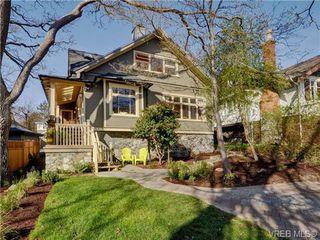 Photo 1: 1226 Roslyn Road in VICTORIA: OB South Oak Bay Single Family Detached for sale (Oak Bay)  : MLS®# 362322