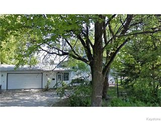 Main Photo: 324 Park Boulevard in Winnipeg: River Heights / Tuxedo / Linden Woods Residential for sale (South Winnipeg)  : MLS®# 1610891