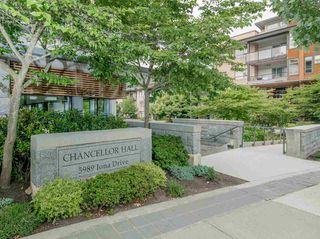 "Photo 1: 307 5989 IONA Drive in Vancouver: University VW Condo for sale in ""Chancellor Hall"" (Vancouver West)  : MLS®# R2194182"