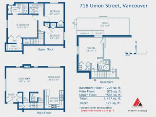 Photo 19: 716 UNION Street in Vancouver: Mount Pleasant VE House 1/2 Duplex for sale (Vancouver East)  : MLS®# R2218146