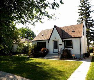 Photo 1: 35 Thorndale Avenue in Winnipeg: St Vital Residential for sale (2D)  : MLS®# 1813983