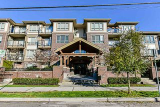 "Photo 1: 309 2175 FRASER Avenue in Port Coquitlam: Glenwood PQ Condo for sale in ""The Residences on Shaughnessy"" : MLS®# R2332080"