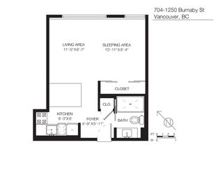 """Photo 20: 704 1250 BURNABY Street in Vancouver: West End VW Condo for sale in """"Horizon"""" (Vancouver West)  : MLS®# R2359043"""