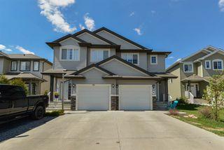 Photo 1: 50 SOUTH CREEK Wynd: Stony Plain House Half Duplex for sale : MLS®# E4155183