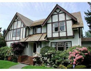 Photo 1: 5515 Churchill Street in Vancouver: Shaughnessy Home for sale ()