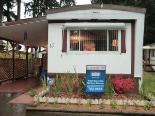 Main Photo: 3560 HALLBERG ROAD in NANAIMO: Manufactured for sale (#13)  : MLS®# 325995