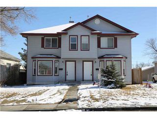 Photo 1: 8001 8003 25 Street SE in CALGARY: Ogden_Lynnwd_Millcan Residential Attached for sale (Calgary)  : MLS®# C3613962