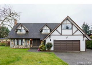 Photo 1: 1055 Damelart Way in BRENTWOOD BAY: CS Brentwood Bay Single Family Detached for sale (Central Saanich)  : MLS®# 697420