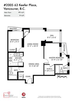 """Photo 20: 2005 63 KEEFER Place in Vancouver: Downtown VW Condo for sale in """"EUROPA"""" (Vancouver West)  : MLS®# R2039893"""