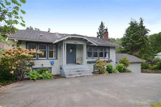 Photo 1: 4562 MARINE Drive in Burnaby: Big Bend House for sale (Burnaby South)  : MLS®# R2074382