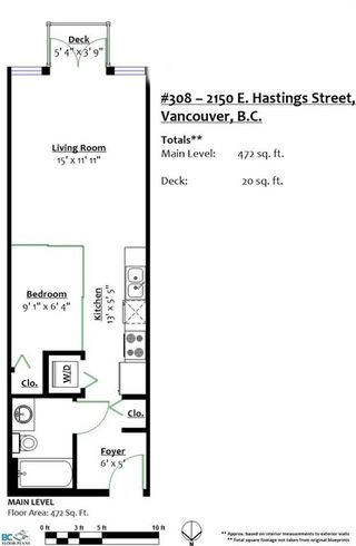 "Photo 19: 308 2150 E HASTINGS Street in Vancouver: Hastings Condo for sale in ""The View"" (Vancouver East)  : MLS®# R2184893"