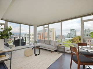"""Photo 5: 906 1650 W 7TH Avenue in Vancouver: Fairview VW Condo for sale in """"Virtu"""" (Vancouver West)  : MLS®# R2307388"""