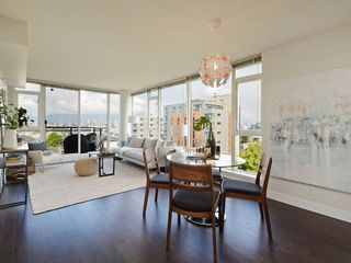 """Photo 6: 906 1650 W 7TH Avenue in Vancouver: Fairview VW Condo for sale in """"Virtu"""" (Vancouver West)  : MLS®# R2307388"""