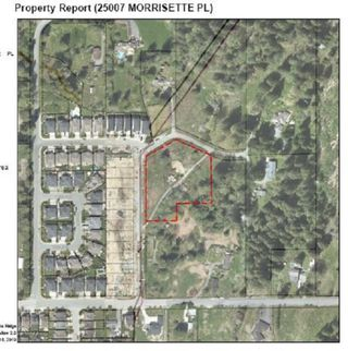 Photo 2: 25007 MORRISETTE Place in Maple Ridge: Thornhill MR Land for sale : MLS®# R2327751