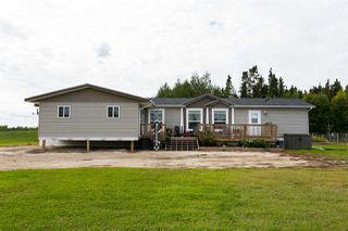Photo 1: 56506 Rge Rd 33: Rural Lac Ste. Anne County Manufactured Home for sale : MLS®# E4151635