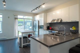 """Photo 2: 14 1338 HAMES Crescent in Coquitlam: Burke Mountain Townhouse for sale in """"Farrington"""" : MLS®# R2366567"""