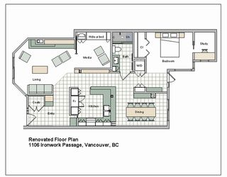 Photo 20: 1106 IRONWORK Passage in Vancouver: False Creek Townhouse for sale (Vancouver West)  : MLS®# R2372009