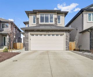 Photo 1: 575 ALBANY Way in Edmonton: Zone 27 House for sale : MLS®# E4167736