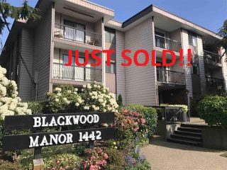 Photo 1: 111 1442 BLACKWOOD STREET: White Rock Condo for sale (South Surrey White Rock)  : MLS®# R2430759