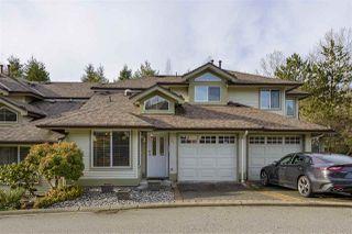 "Photo 1: 36 22740 116 Avenue in Maple Ridge: East Central Townhouse for sale in ""Fraser Glen"" : MLS®# R2527095"