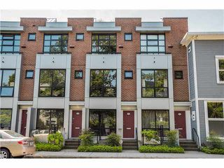 "Photo 1: 690 W 16TH Avenue in Vancouver: Cambie Townhouse for sale in ""HEATHERVIEW"" (Vancouver West)  : MLS®# V1069354"