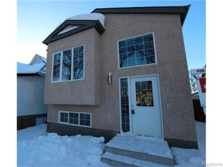 Photo 1: 884 Ingersoll Street in WINNIPEG: West End / Wolseley Residential for sale (West Winnipeg)  : MLS®# 1600757