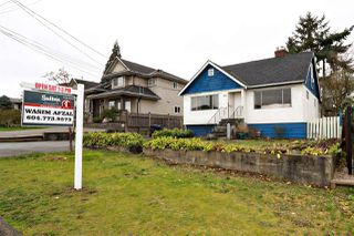 Photo 1: 2219 DUBLIN Street in New Westminster: Connaught Heights House for sale : MLS®# R2041786