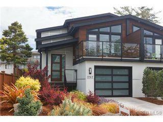 Photo 1: 252 ontario Street in VICTORIA: Vi James Bay Strata Duplex Unit for sale (Victoria)  : MLS®# 367155