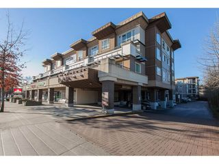 "Photo 1: 322 9655 KING GEORGE Boulevard in Surrey: Whalley Condo for sale in ""GRUV"" (North Surrey)  : MLS®# R2134761"