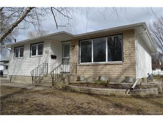 Photo 1: 721 Vimy Road in Winnipeg: Crestview Residential for sale (5H)  : MLS®# 1707265