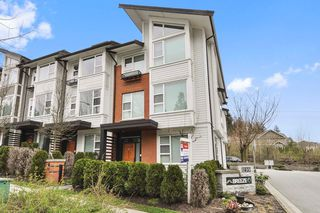 "Photo 1: 23 1299 COAST MERIDIAN Road in Coquitlam: Burke Mountain Townhouse for sale in ""THE BREEZE"" : MLS®# R2152588"
