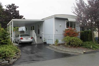 "Photo 1: 62 15875 20 Avenue in Surrey: King George Corridor Manufactured Home for sale in ""SEA RIDGE BAYS"" (South Surrey White Rock)  : MLS®# R2208444"
