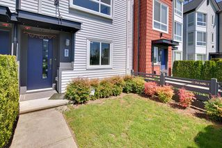 "Photo 2: 67 2310 RANGER Lane in Port Coquitlam: Riverwood Townhouse for sale in ""FREMONT BLUE"" : MLS®# R2267327"