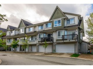 """Photo 1: 35 7155 189 Street in Surrey: Clayton Townhouse for sale in """"Bacara"""" (Cloverdale)  : MLS®# R2361124"""