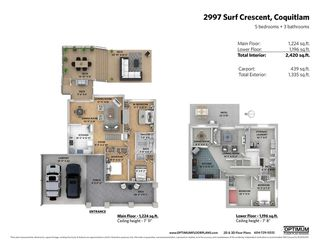 """Photo 20: 2997 SURF Crescent in Coquitlam: Ranch Park House for sale in """"RANCH PARK"""" : MLS®# R2372503"""