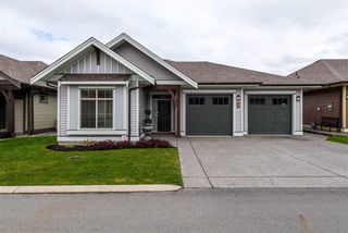 """Photo 1: 126 45900 SOUTH SUMAS Road in Chilliwack: Sardis West Vedder Rd Townhouse for sale in """"The Evergreens at Ensley"""" (Sardis)  : MLS®# R2381812"""