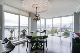 "Photo 3: 704 125 COLUMBIA Street in New Westminster: Downtown NW Condo for sale in ""NORTHBANK"" : MLS®# R2387169"